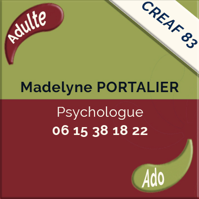 Madelyne Portalier, Psychologue